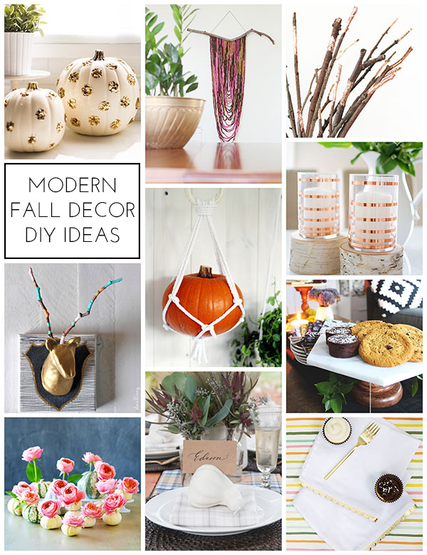 Modern Fall Decor Ideas