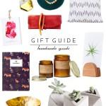 Gift Guide: Handmade Goods