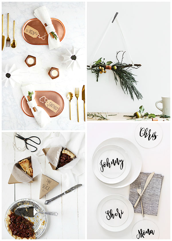 10 Modern Thanksgiving DIYs