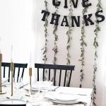 DIY Simple Thanksgiving Garland