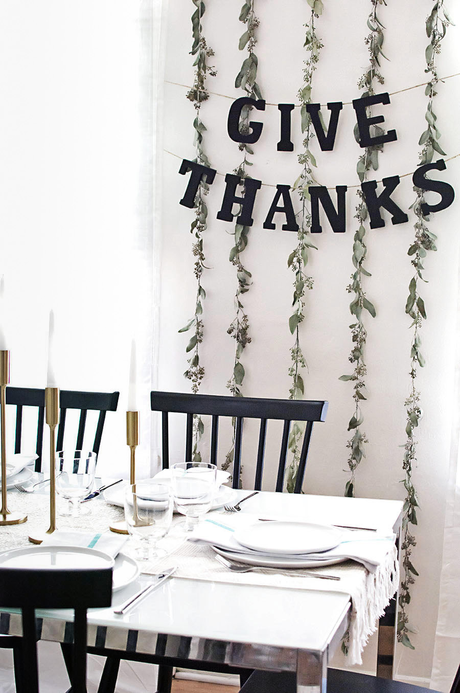 Give thanks garland DIY-2