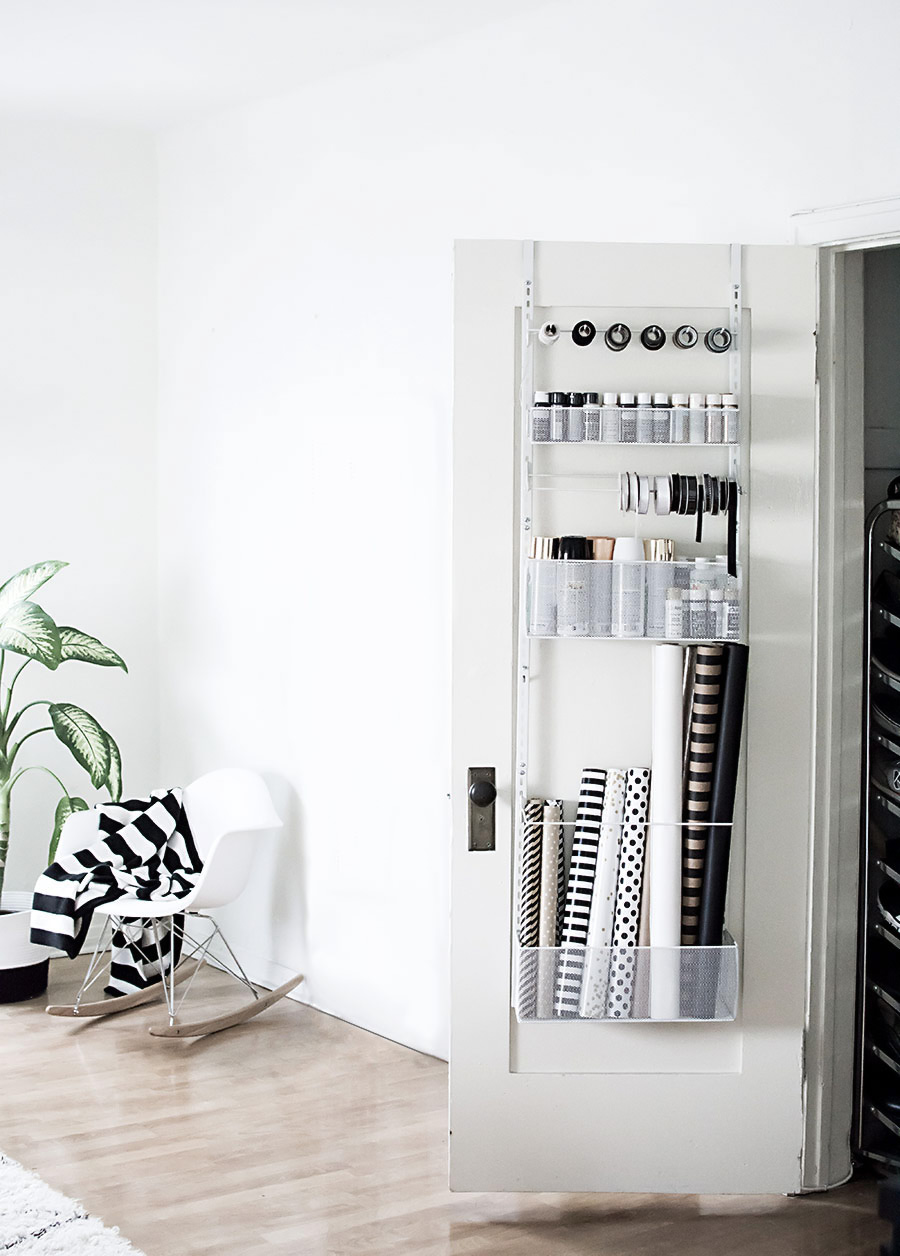 Organizing Supplies in a Small Space