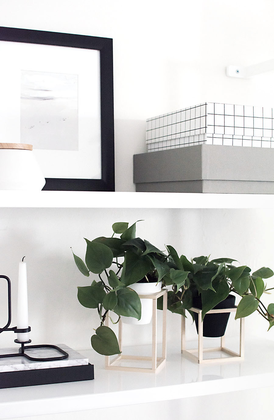 Mini Plant Stands DIY-2