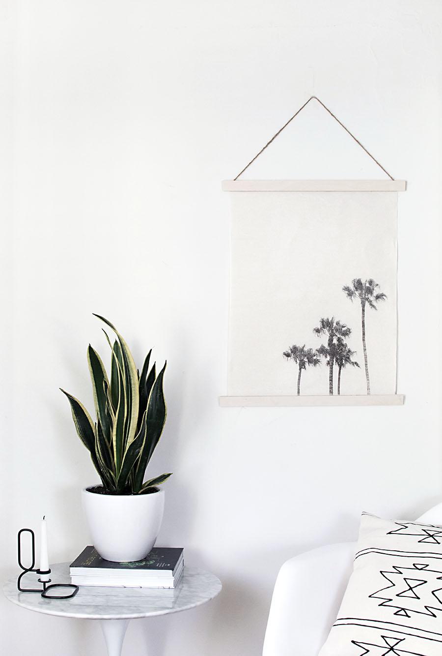 Image Transfer Wall Hanging