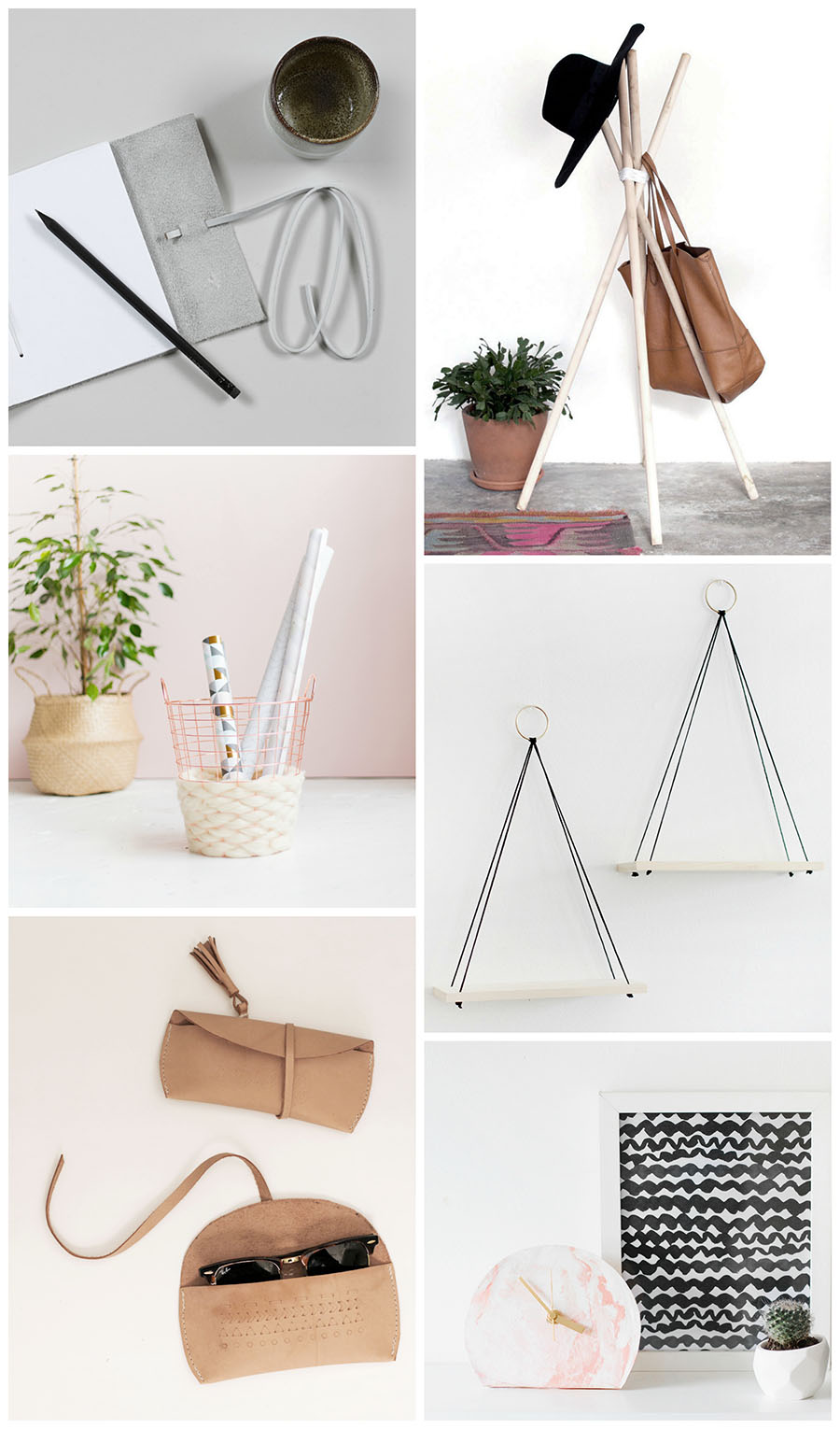 Simple and modern DIYs to try