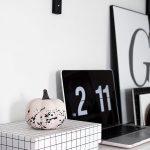DIY Paint Splattered Pumpkins